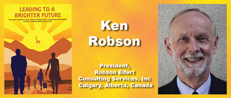 Ken Robson - Paul A. Elsner Award Winner